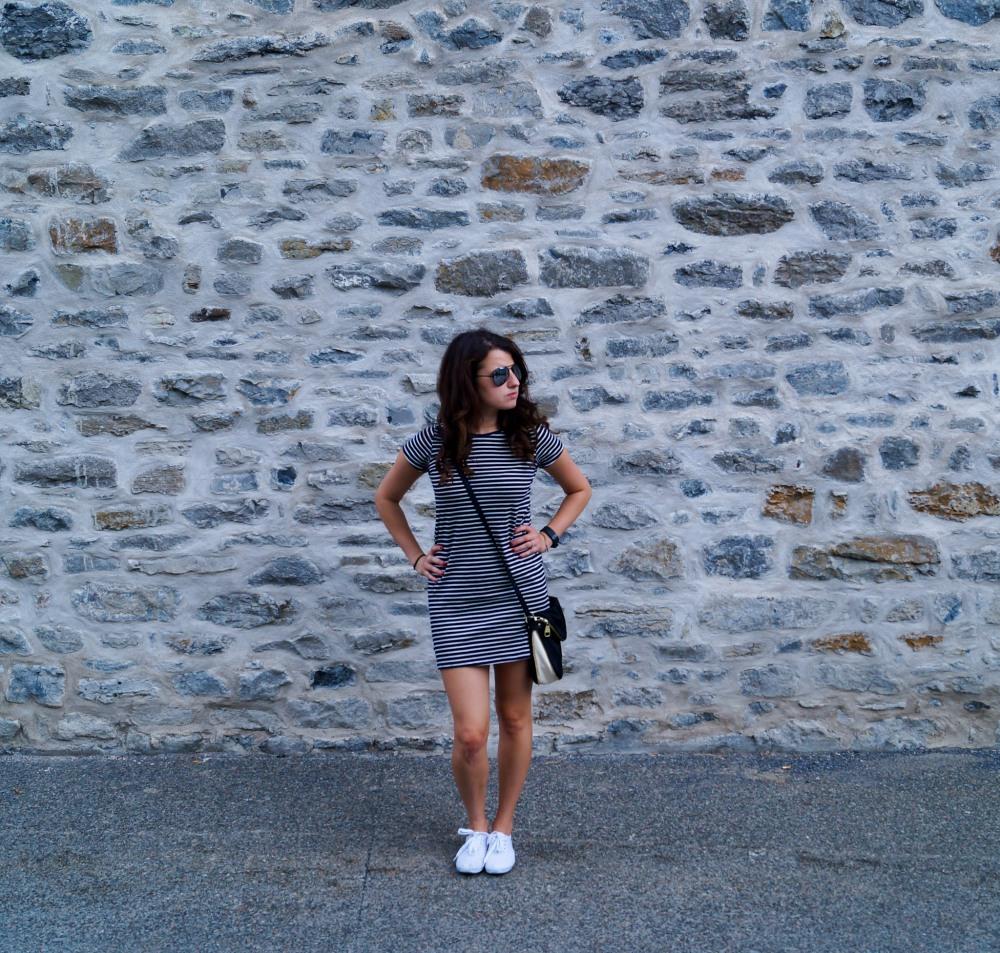 Striped Dress Montreal