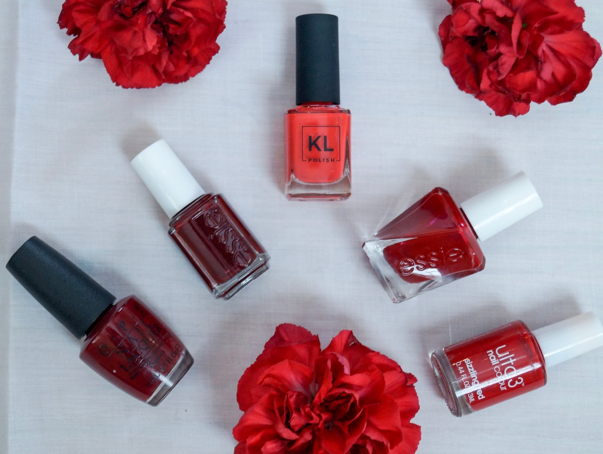 My Top 5 Red Nail Polishes – Style As Needed